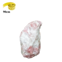Rough Stone Rose Quartz, appr. 90cm, 