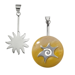 Donuthalter Symbole & Tiere (Silber)
