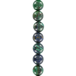 Stringed Gemstone Beads and Spheres