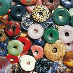 Gemstone Donuts Packs with Mixed Stones